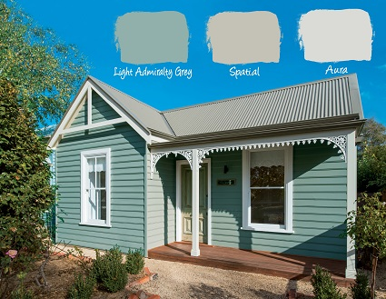Neutral Exterior  Tone House Paint Colors