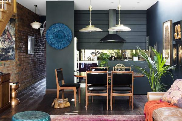 Colour Sets The Scene For Renovated Victorian Workers