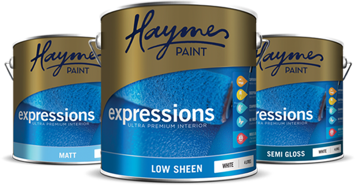 Expressions Launch Page - Trade - Haymes Paint