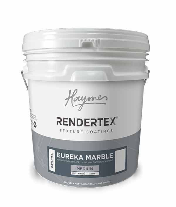 REMMWW15 Rendertex Eureka Marble Medium White WINTER 15L 2D6