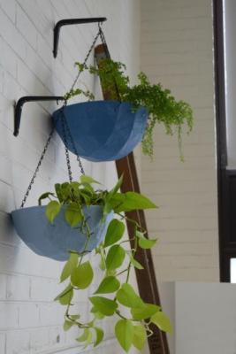 finished hanging planter