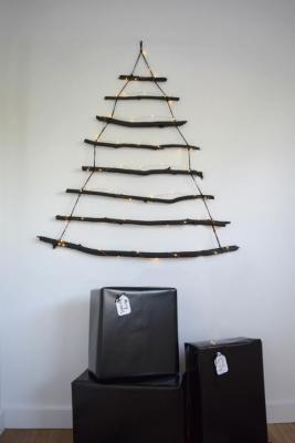 space saving xmas tree