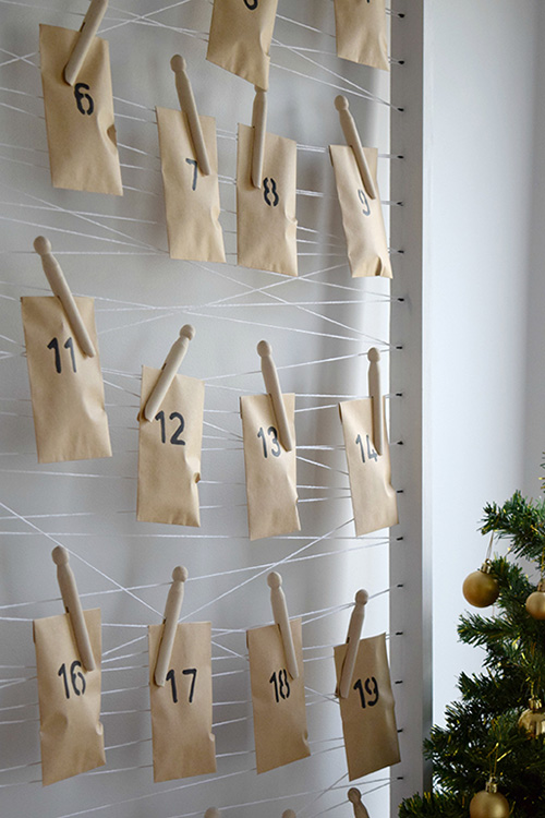 Minimalist Advent Calendar : Minimalist diy advent calendar idea haymes paint