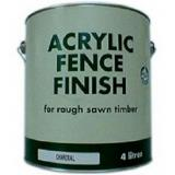 Fence finish