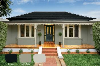 Cream Rendered House Exterior