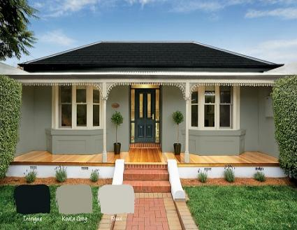 Popular exterior paint colours haymes paint - Colours for exterior house painting ...