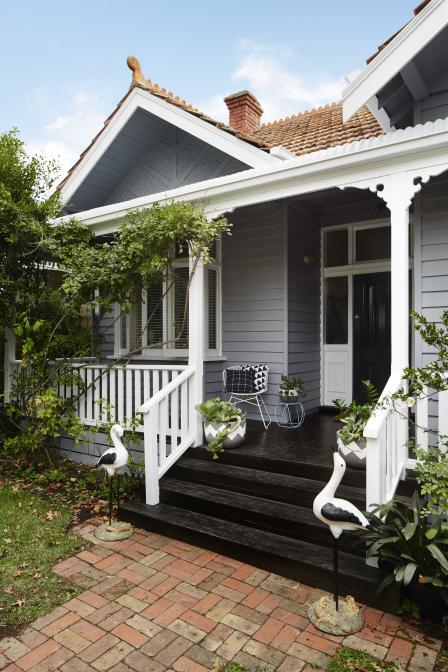 Federation Home Pops With Modern Colours Haymes Paint