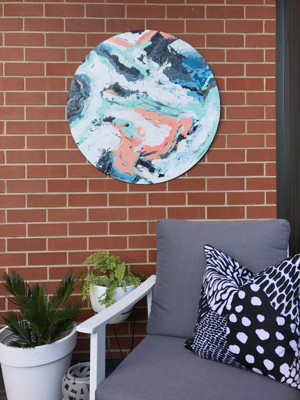 Diy Outdoor Wall Art Haymes Paint