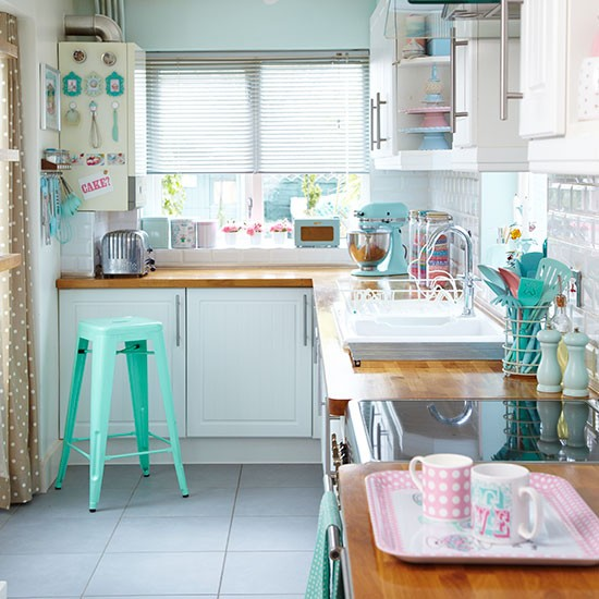 Embracing The Blue Kitchen: Haymes Paint