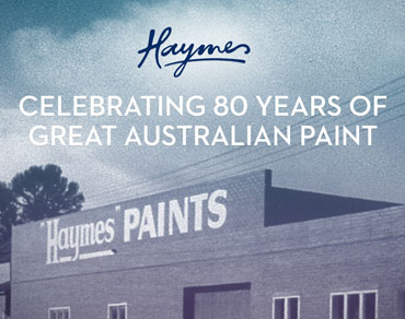 celebrating 100yrs australian paint